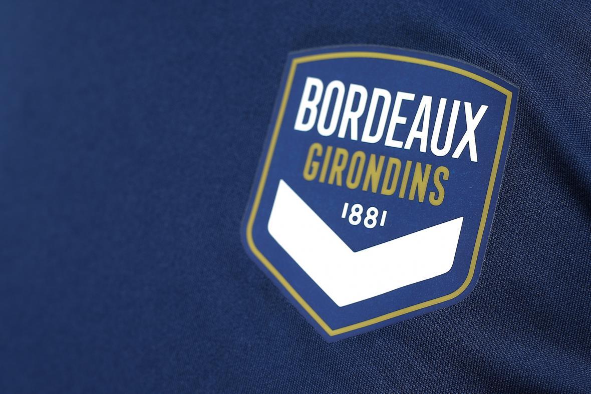 Logo des Girondins de Bordeaux - Maillot marine