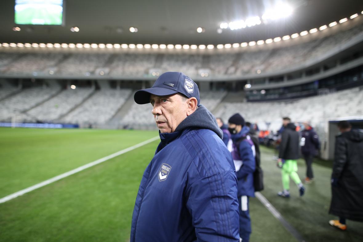 Jean-Louis Gasset (Bordeaux-Marseille, 0-0, Saison 2020-2021)