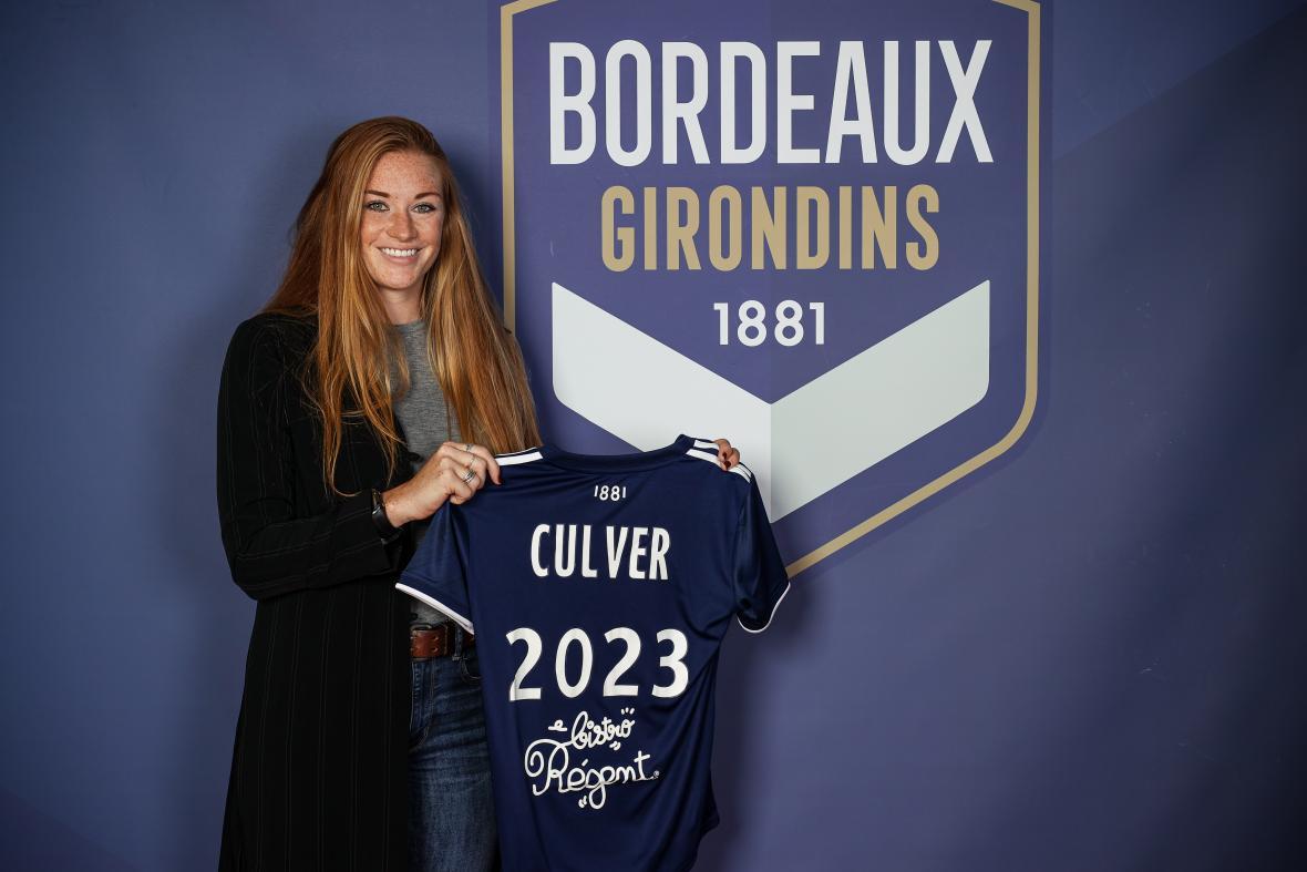 Paige Culver s'engage aux Girondins de Bordeaux