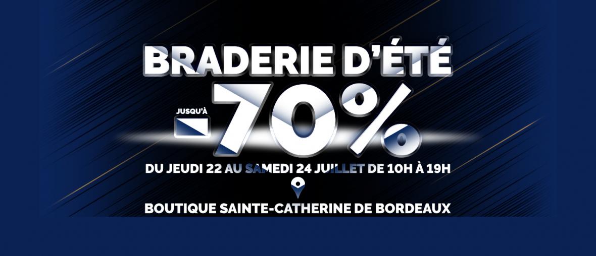 Braderie Rue Sainte-Catherine Juillet 2021