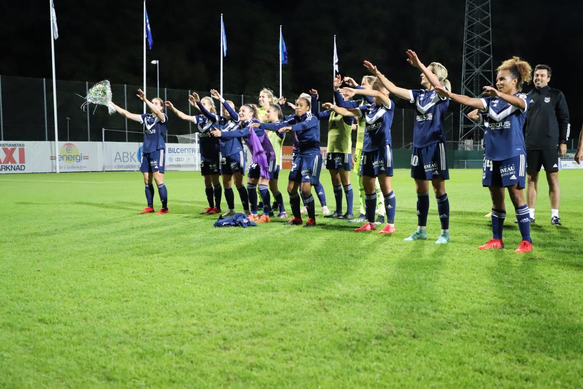 Bordeaux-Kristianstads, UEFA Women's Champions League - Août 2021