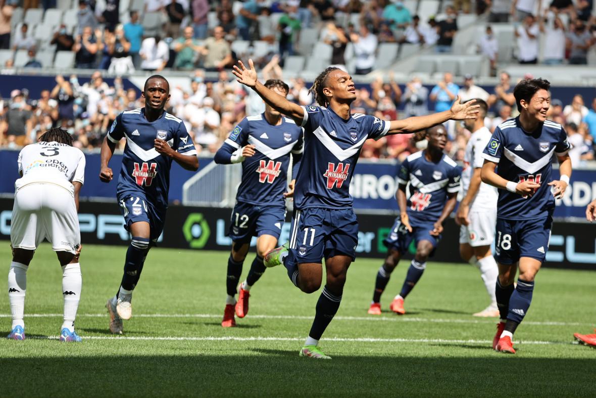 Bordeaux-Angers (1-1, Saison 2021-2022, août 2021)
