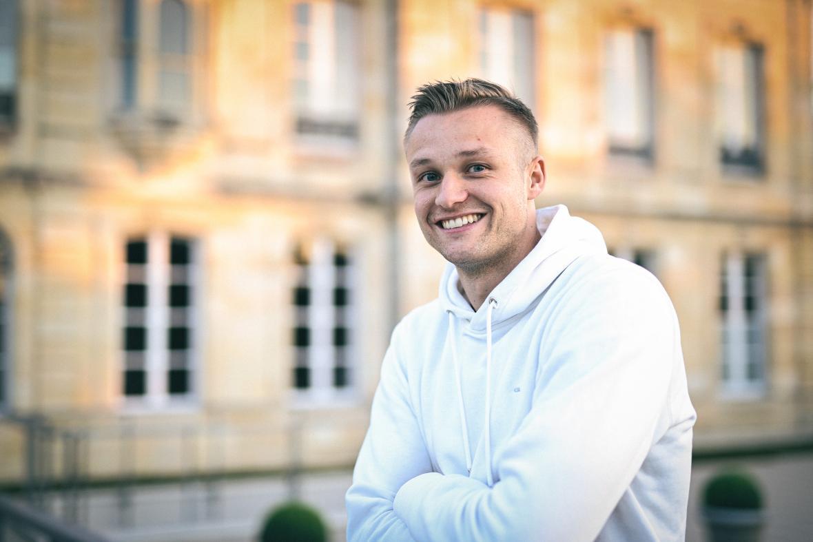 Stian Gregersen signe aux Girondins (août 2021)