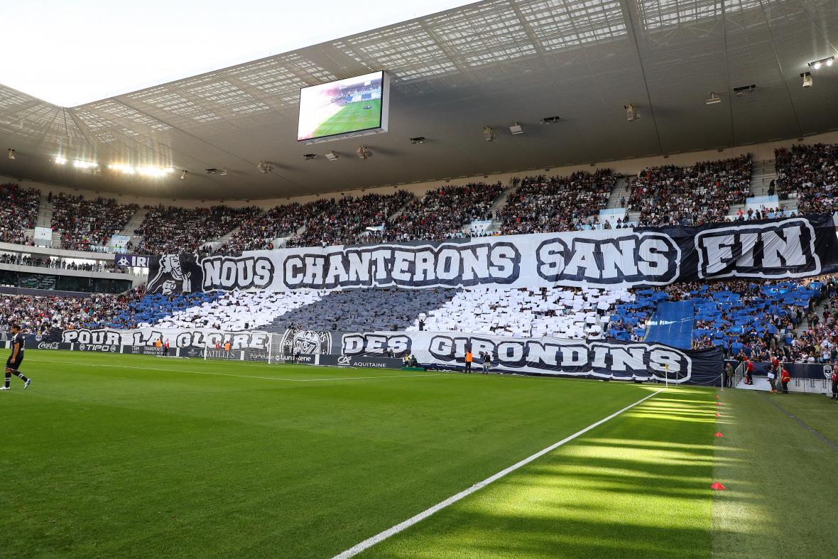Le Matmut ATLANTIQUE lors de Bordeaux-PSG (Saison 2019-2020)