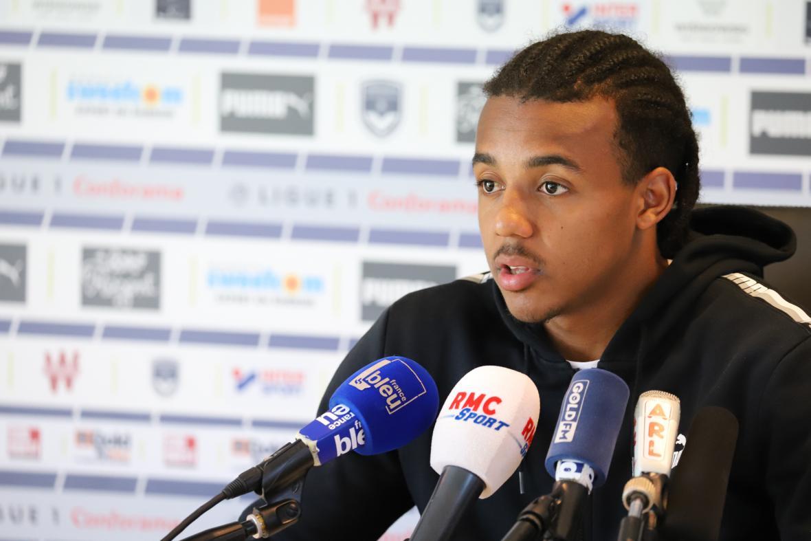 Jules Koundé face à la presse