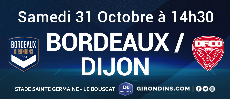 Billetterie Bordeaux-Dijon Féminines