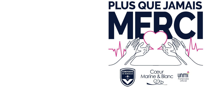 Bordeaux-Rennes, match dédié aux soignants