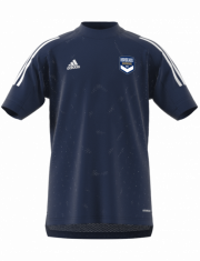 t-shirt-training-adidas-marine-junior