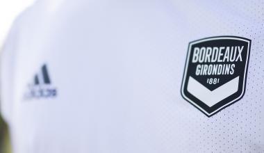 Logo des Girondins de Bordeaux - Maillot blanc