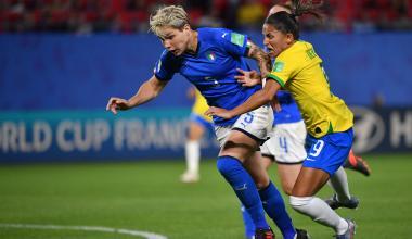 Elena Linari et l'Italie défient le Brésil