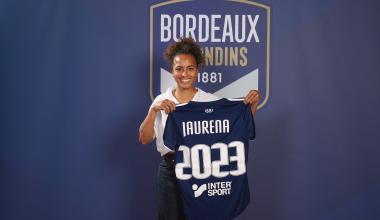 Inès Jaurena prolonge son contrat aux Girondins (avril 2021)
