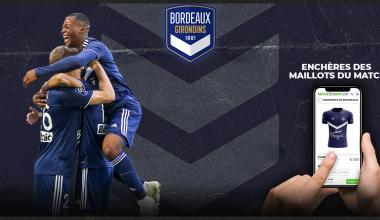Vente aux enchères des maillots de Bordeaux-Monaco