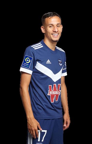 Fiche Joueur Saison 2021-2022 / Mehdi Zerkane
