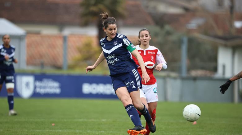 Bordeaux-Reims Féminines (7-1, Saison 2020-2021)