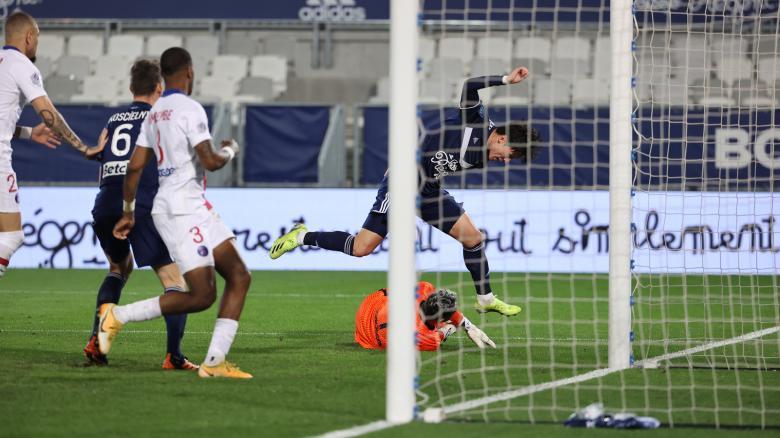 Bordeaux-Paris (0-1)