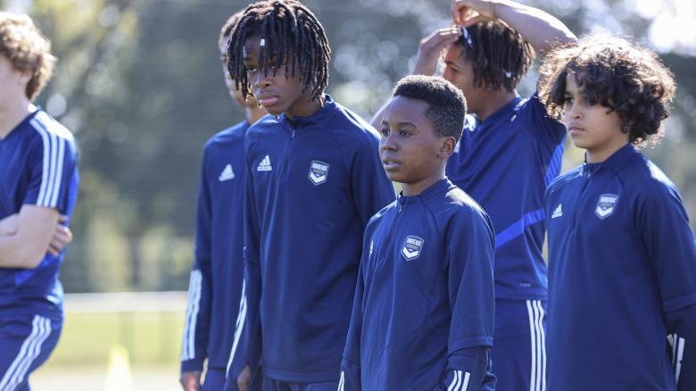L'école de football du FC Girondins de Bordeaux