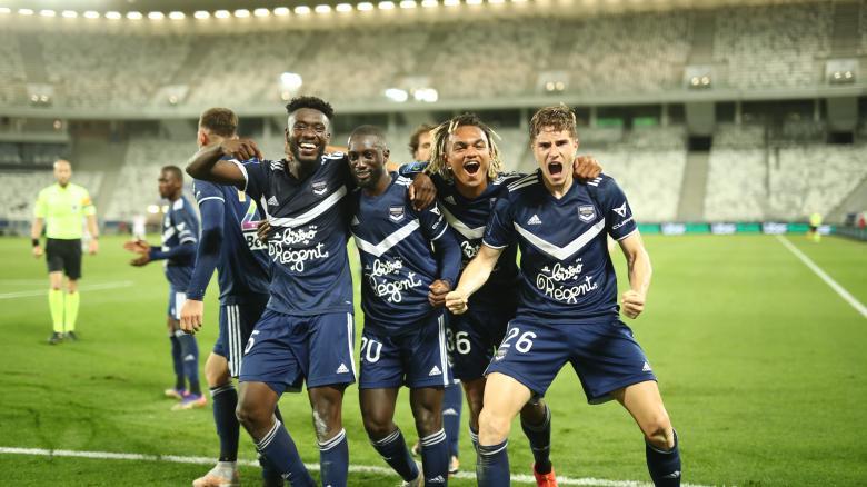 Les images de la victoire de Bordeaux - Lens