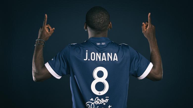 Junior Onana s'engage aux Girondins de Bordeaux (Août 2021)