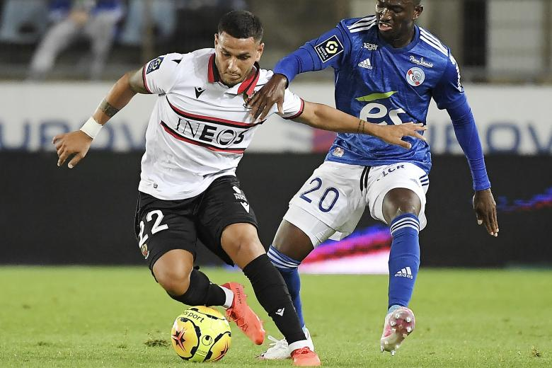 Rony Lopes face à Kevin Zohi