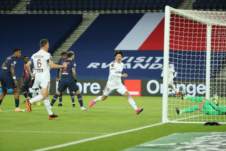 Les Girondins ouvrent le score sur corner