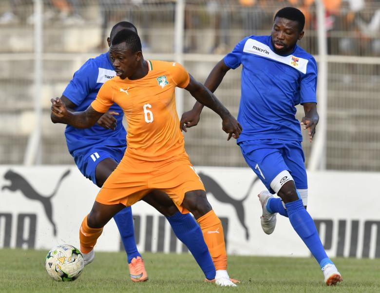 Jean-Michaël Seri sous le maillot de la sélection ivoirienne