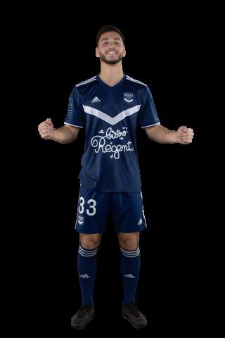Tom Lacoux sous le maillot bordelais (Saison 2020-2021)