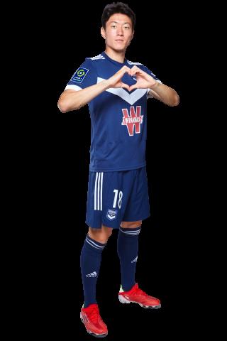 Fiche Joueur Saison 2021-2022 / Hwang Ui-Jo