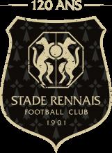 Logo des 120 ans du Stade Rennais FC